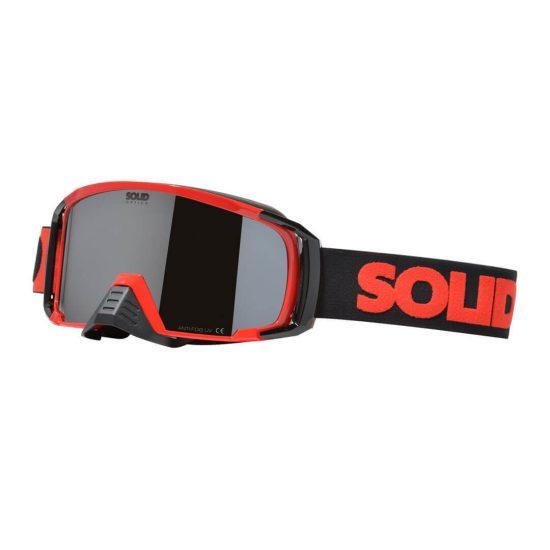SOLID Apollo Goggle Red