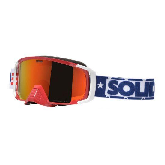 SOLID Apollo Goggle Patriot