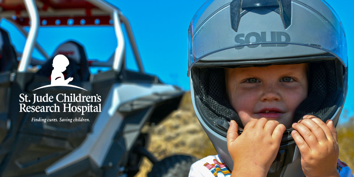 SOLID Helmets proudly supports St. Jude Childrens Research Hospital